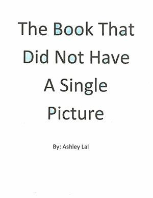 "Third Grade""The Book that Did Not Have a Single Picture"""
