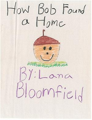 "First Grade: ""How Bob Found a Home"""