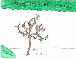 "Third Grade: ""Adventures of a Leaf"""