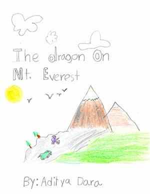 """First Grade: """"The Dragon on Mt. Everest"""""""