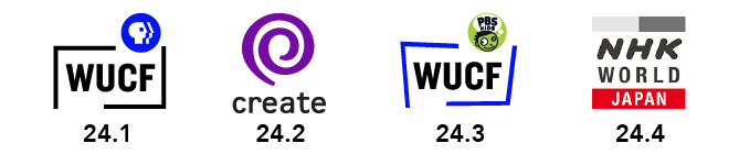The stations of WUCF TV