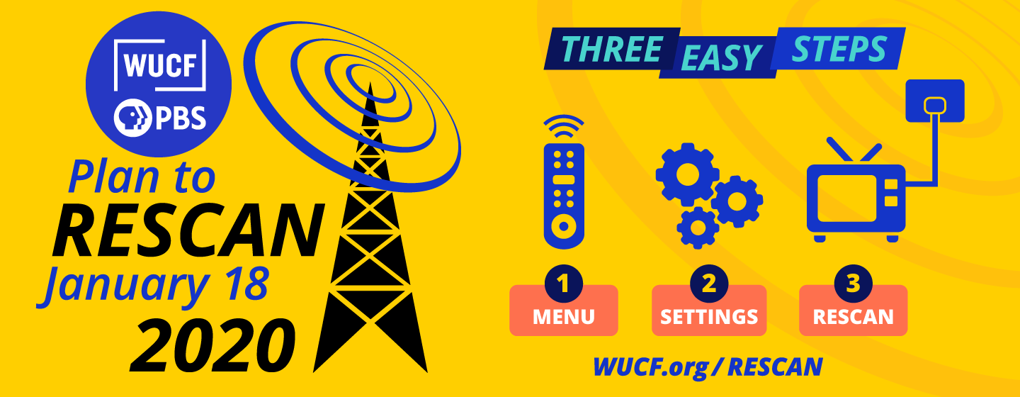 Rescan on WUCF