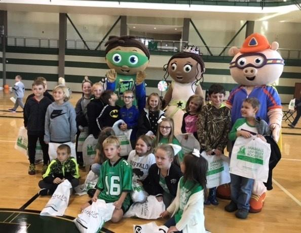 Students with Super Why