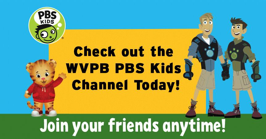 WVPB PBS Kids. 24/7 Educational TV