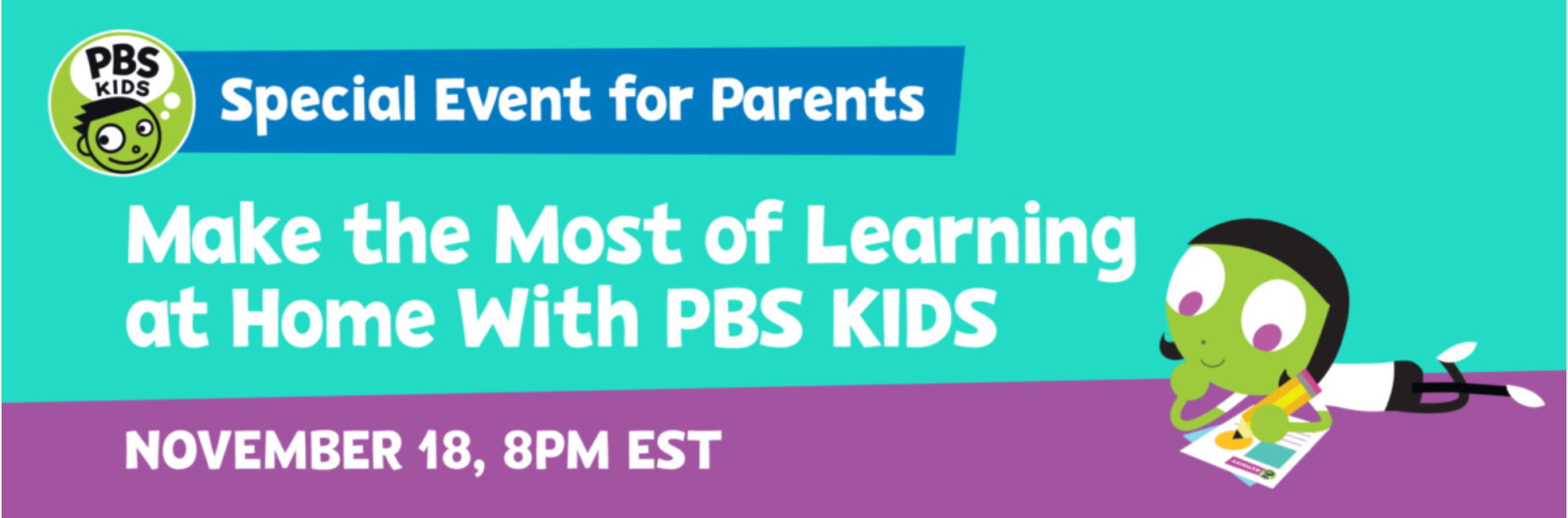 Make the most of learning at home with PBS Kids