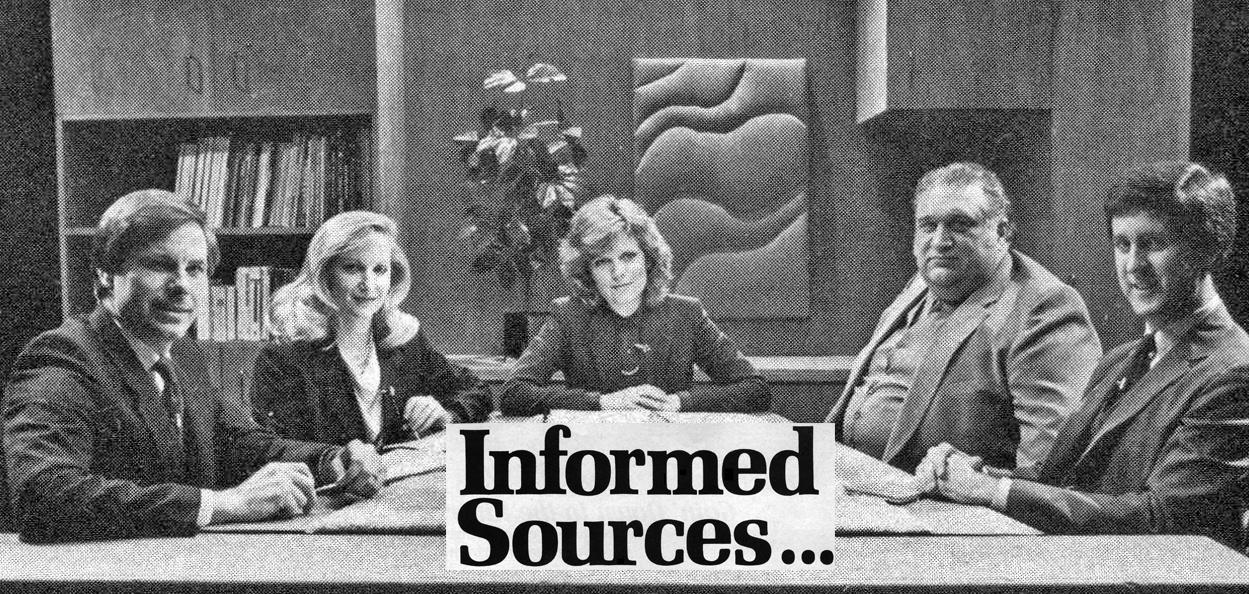 Informed Sources 35th anniversary