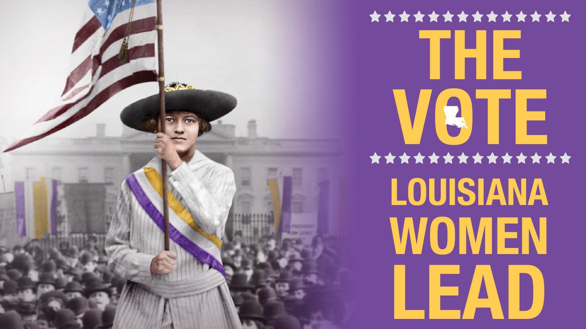 THE VOTE: LOUISIANA WOMEN LEAD
