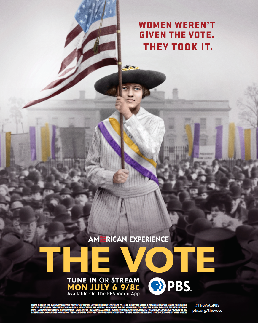 American Experience The Vote poster