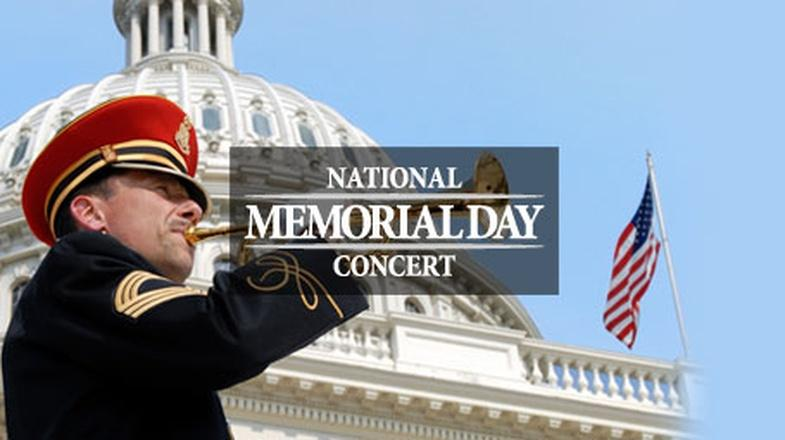 National Memorial Day Concert logo