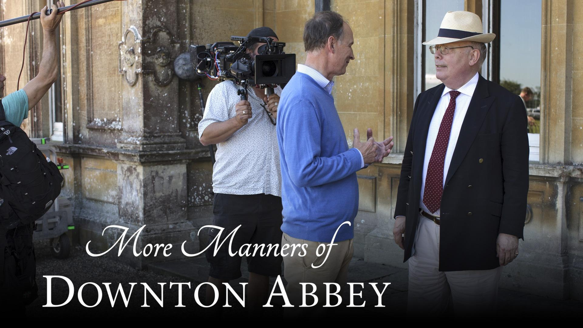 More Manners of Downton Abbey