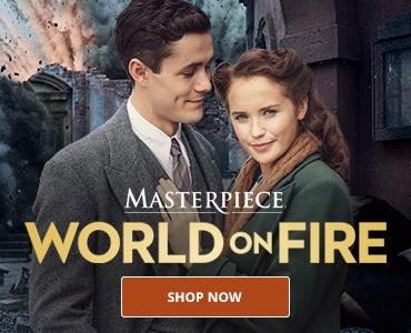 Masterpiece: World on Fire DVD