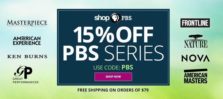 fcfed6ba0f55a5 Shop PBS  15% off PBS Series. Use code PBS at checkout. Plus