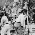Working on the Panama Canal