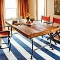 Build a Table from Salvaged Beams