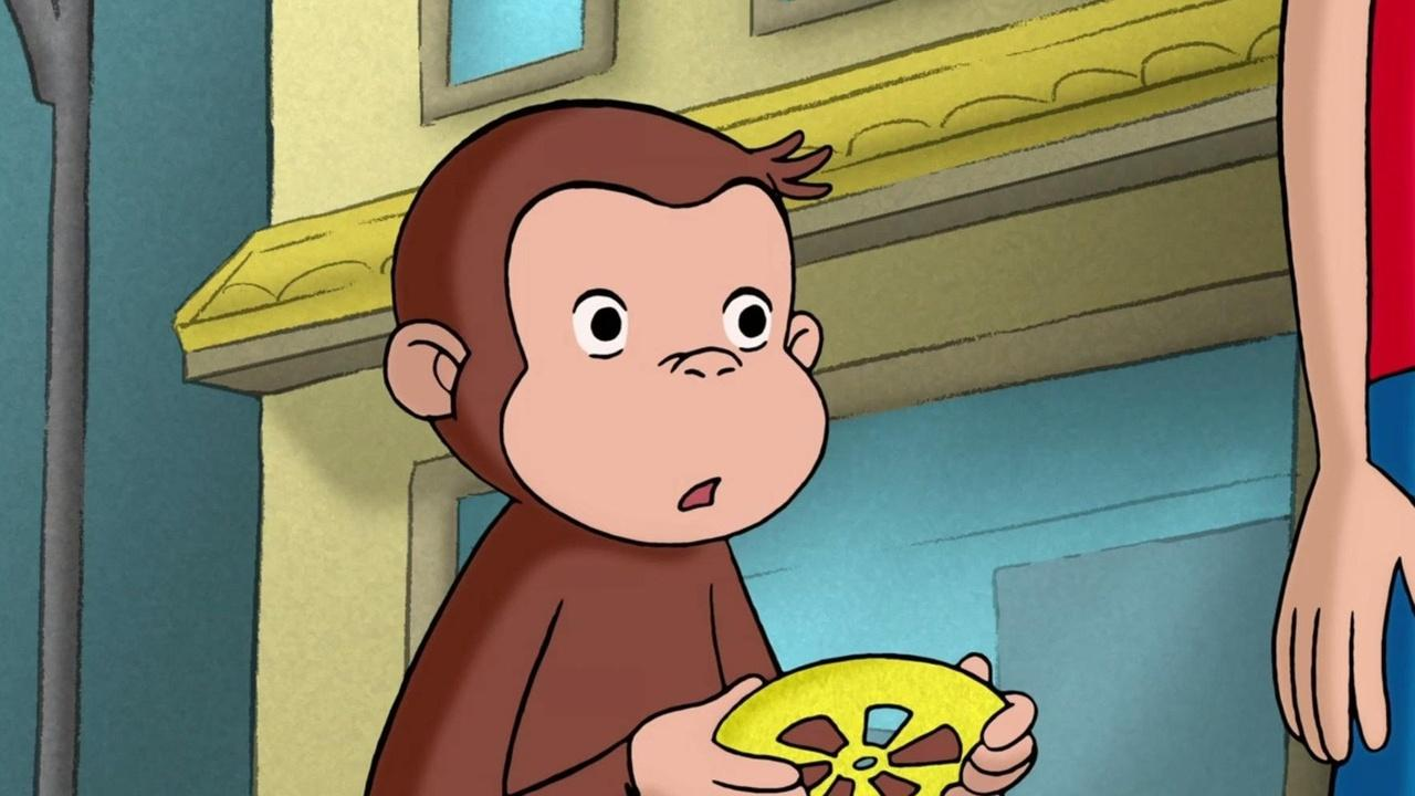 Curious George: George Fixes Betsy's Wagon; Curious George Takes a Dive