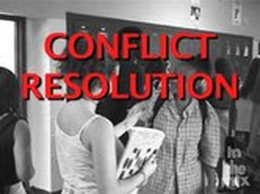 Conflict Resolution: Thinking It Through