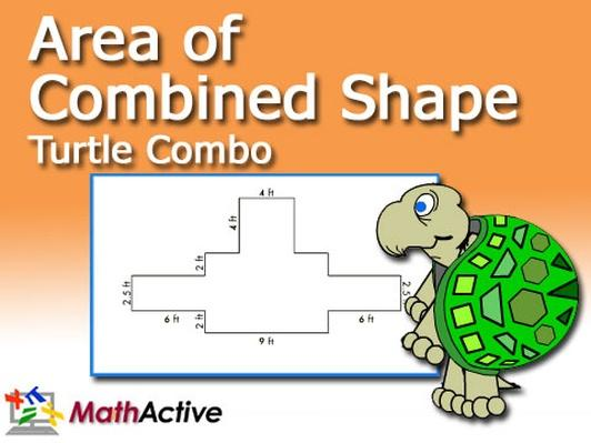 Area of Combined Shape | Math Active