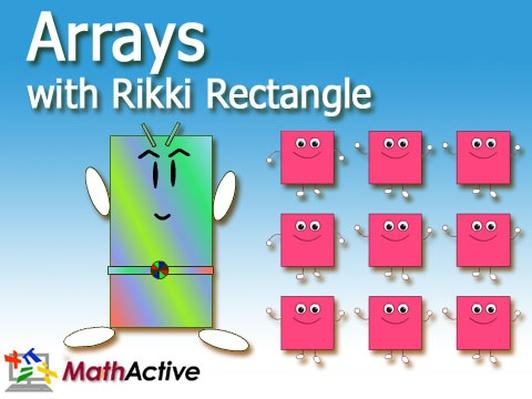 Arrays with Rikki | Math Active