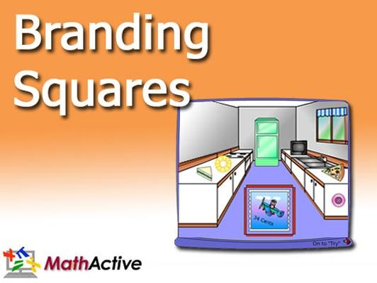 Branding Squares | Math Active
