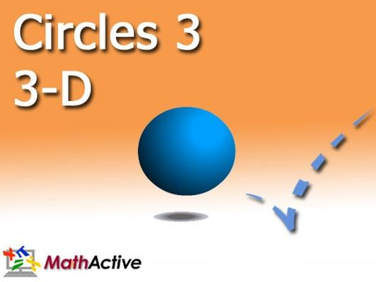 Circles in 3-D | Spheres