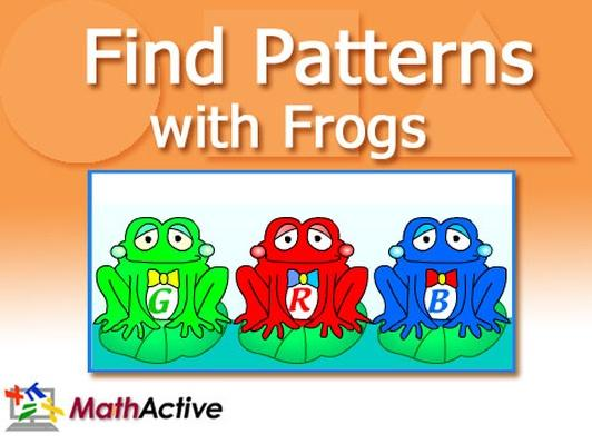 Find Patterns with Frogs
