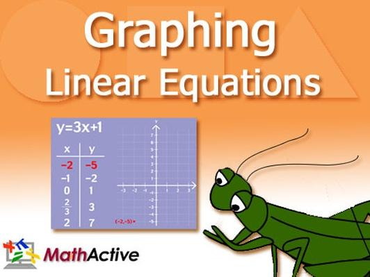 Graphing Linear Equations with 2 Variables