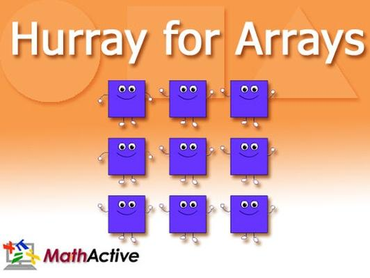 Hurray for Arrays | English Voice