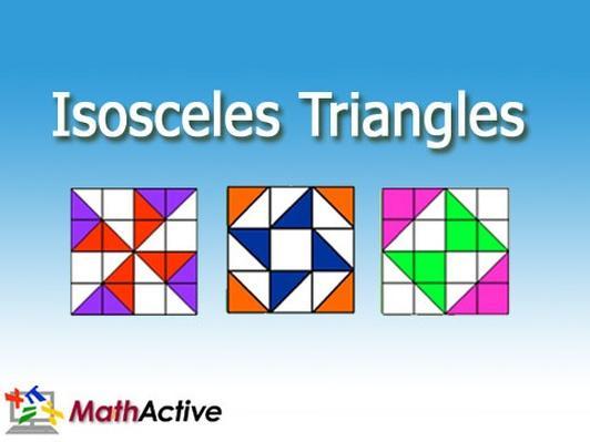 Isosceles Triangles | English Voice