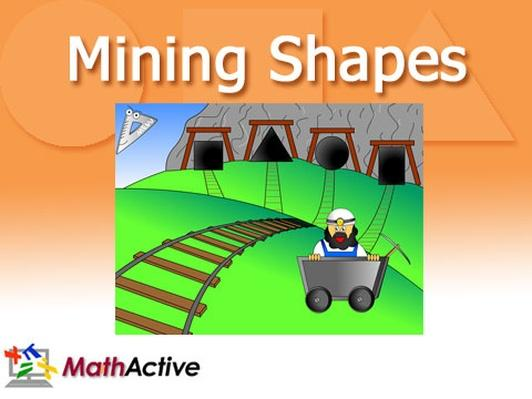 Mining Shapes | English Voice