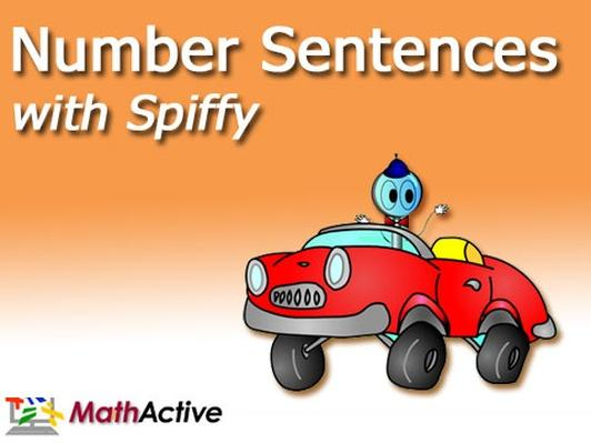 Number Sentences with Spiffy