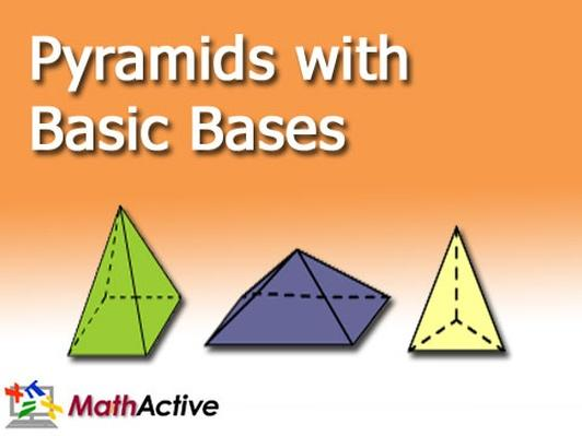Pyramids with Basic Bases