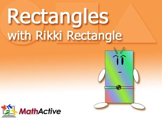Rectangles with Rikki Rectangle | English Voice