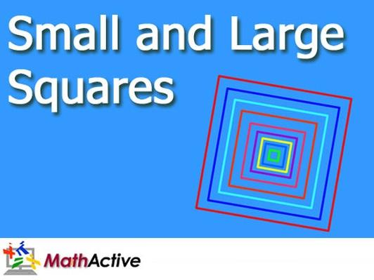 Small and Large Squares | English Voice