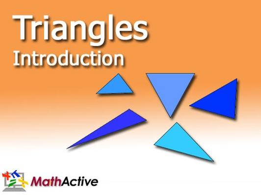 Triangles Introduction | English Voice