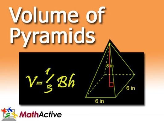 Volume of Pyramids | English Voice