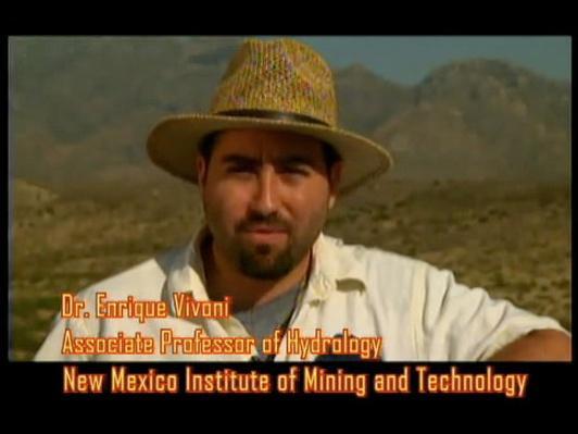 Dr. Enrique Vivoni, Hydrologist