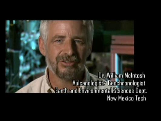 Dr. William McIntosh, Vulcanologist/Geochronologist
