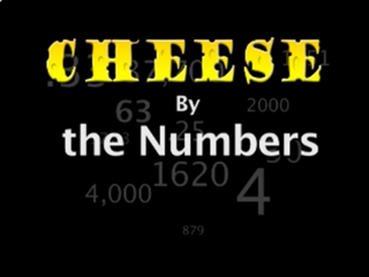 Cheese by the Numbers: 1620