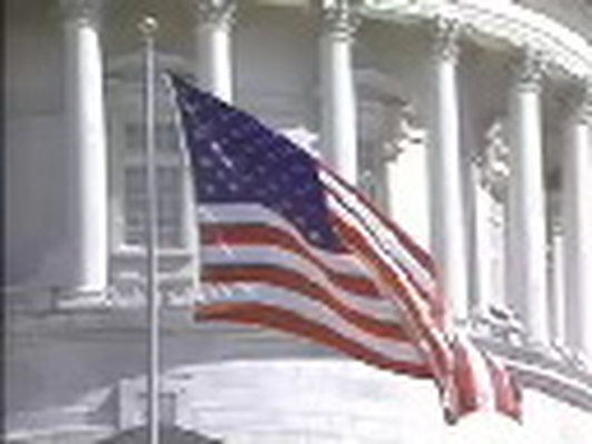 Manufacturing and Industry in Utah: Utah State Capitol and American Flag