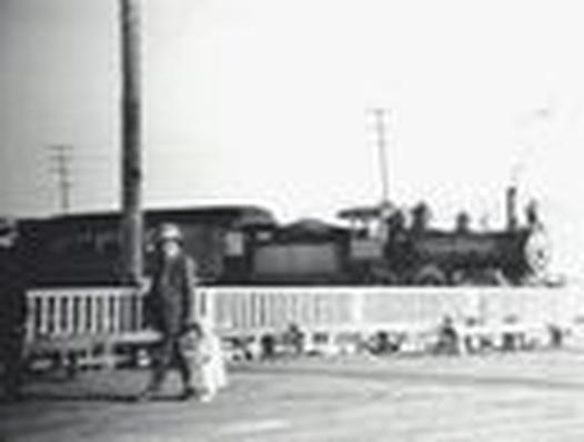 The Great Salt Lake: Bamberger Express Train