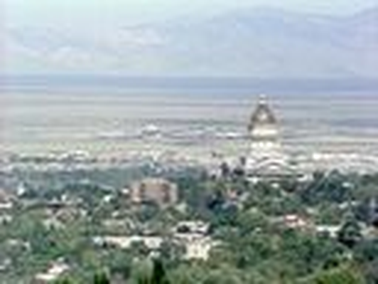 The Great Salt Lake: State Capitol on Stansbury Terrace