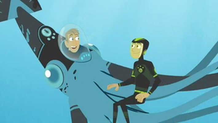 Up the Ocean Food Chain | Wild Kratts