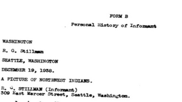 A Picture of Northwest Indians: Federal Writers' Project Interview (1938)