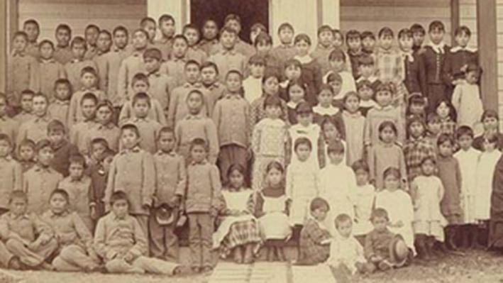 Tlingit Mission Students at Sheldon Jackson Institute: Sitka, Alaska (1887)