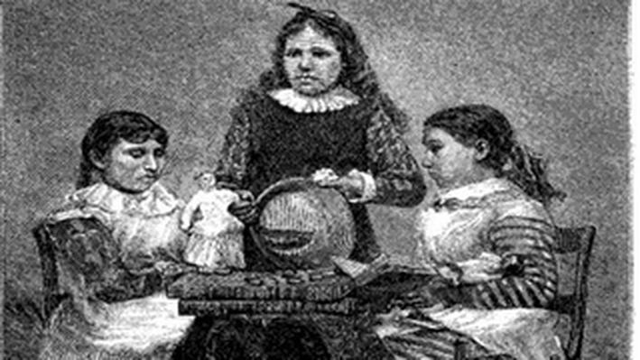 The Indian Girls at Hampton, 1882