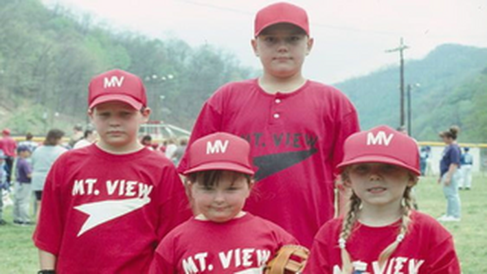 Mt. View Little League Team
