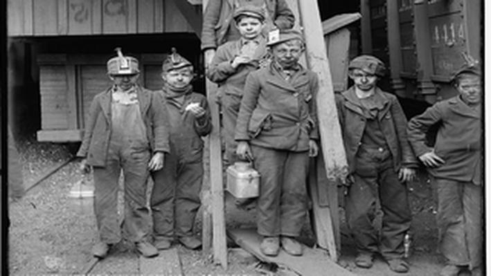 Breaker Boys, Woodward Coal Mines: Kingston, Pennsylvania