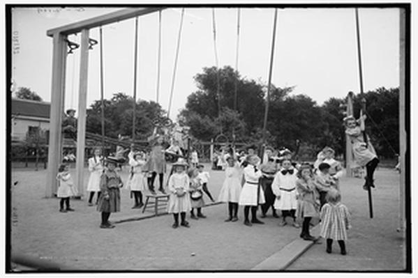 Girls' Playground on Harriet Island, Minnesota