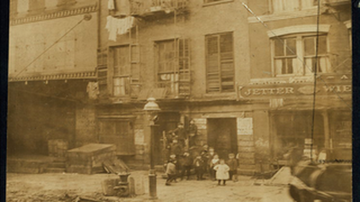 Tenement House and Children
