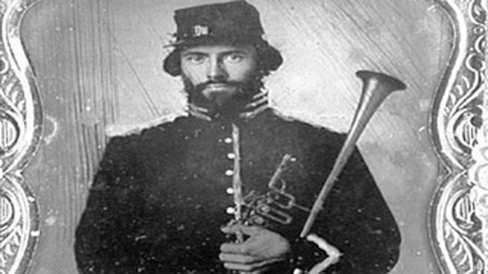 Portrait of a musician: U.S. Calvalry